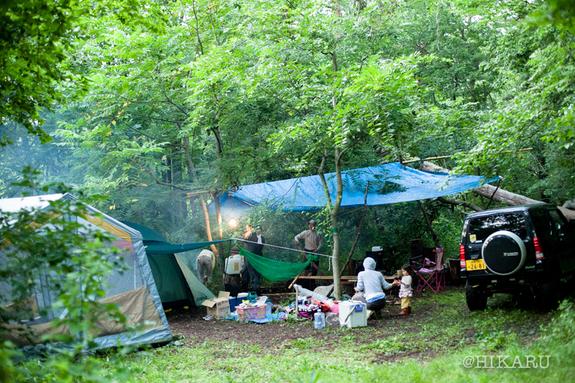 農園キャンプ