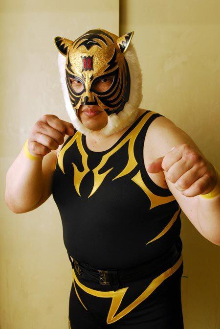 無茶フェス2013ゲストレスラー:初代タイガーマスクさん