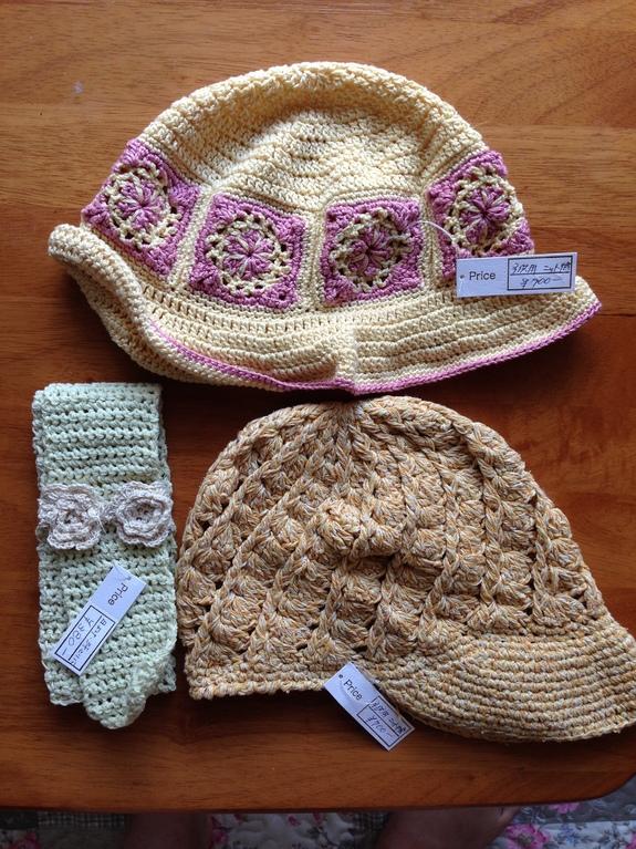 ゆうちゃんさん編み雑貨です