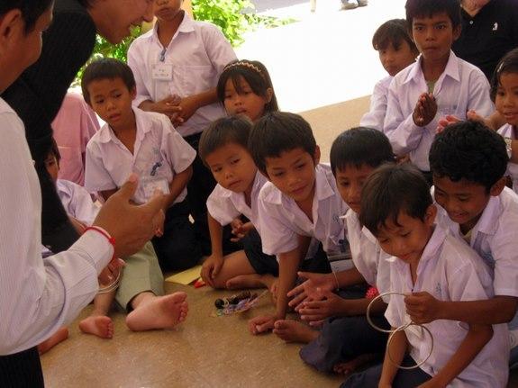 カンボジアでのボランティア