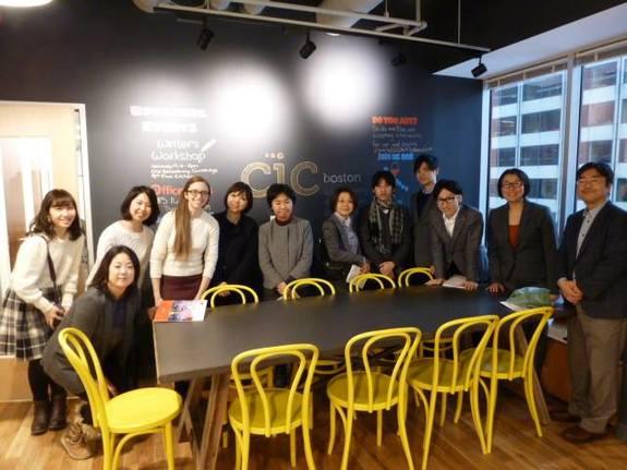 ボストンの代表的なコワーキングスペースであるケンブリッジ・イノベーション・センター(CIC)を2015年に訪問