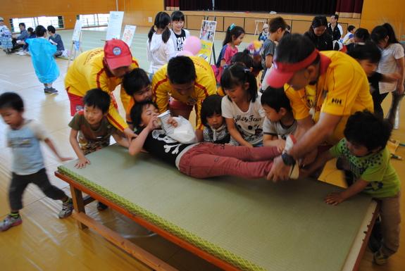 神戸ライフセービングクラブによる救急法