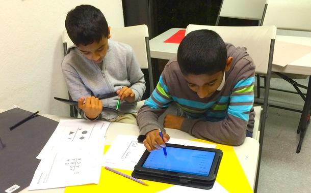 RISUのクラスにも識字障害で苦労している生徒がいます。