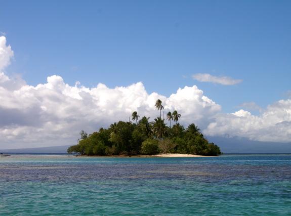 豊かな自然に恵まれたソロモン諸島