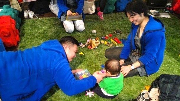1000人規模で行われたイベント、MISOJI MATSURIでのおもちゃブース