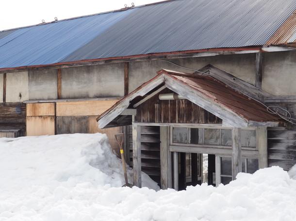 雪解けの沼牛駅