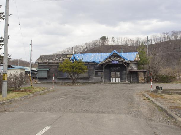 上利別駅舎