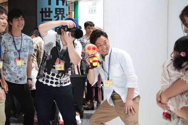 PGC絆撮影会 撮影風景