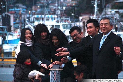 2012年 気仙沼クリスマスイルミネーション点灯式