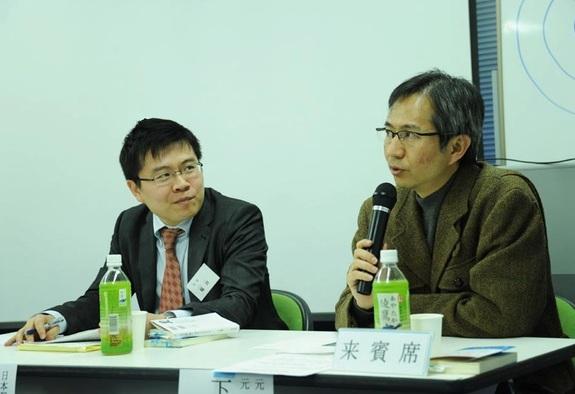 第1回報道品質セミナー(2013年7月)で、元TBSの下村健一さんをご招待