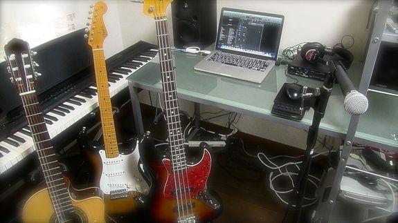 DTMの楽曲制作