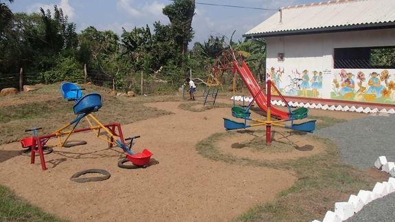 設備の整った幼稚園