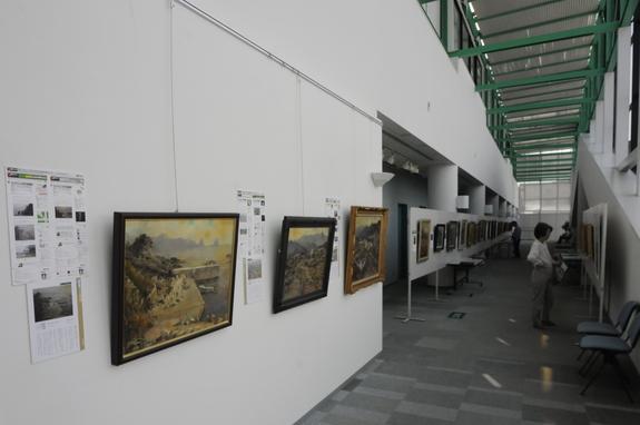 静岡県御前崎展の会場風景