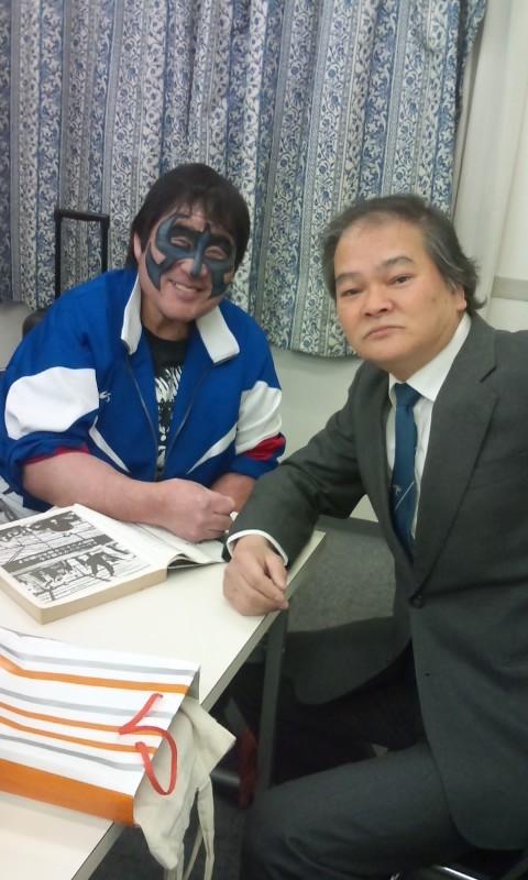 ミスターポーゴさんとヤミキが38年ぶりに再開した際の写真 小林由佳さ...   聴覚障害者と健聴