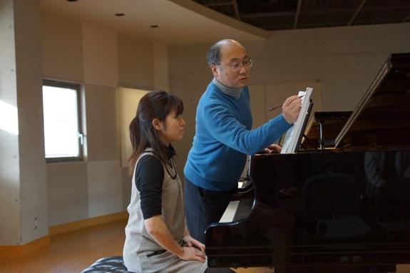ピアノマスタークラス(植田克己教授)