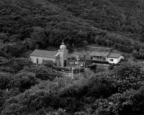 写真は五島列島に位置する頭ヶ島教会