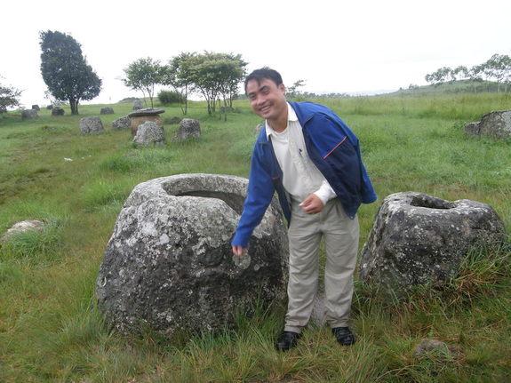 クラスター爆弾被害者 シエンクアン ジャール平原