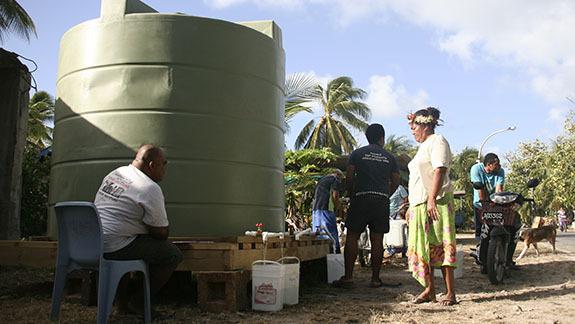 2011年に発生した干ばつの時の配給の様子