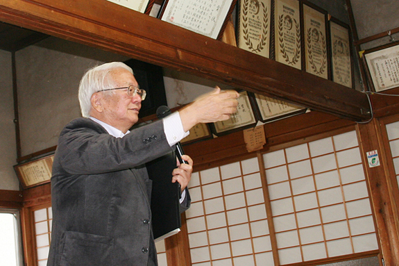 NPO法人蜘蛛の糸理事長佐藤久男