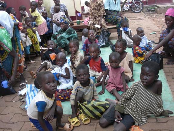 内戦後の中央アフリカにて、栄養失調児の母達に農業での自立を!(NGOアフリカ友の会 徳永瑞子)