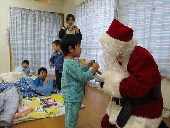 2013クリスマス便 山田町山田第一保育所 お届けのようす