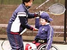 車いすテニスの大会を開催し障がい児の自信を育みたい!