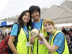 イスラエル・パレスチナ・日本の若者が大槌町でボランティアを!