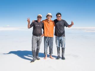 世界一の絶景ウユニ塩湖の環境を守るためバイオトイレを作りたい
