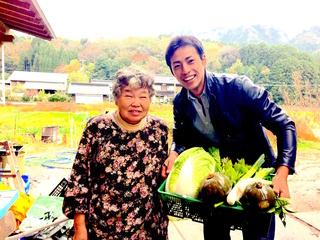 知恵と愛情が詰まった栄養満点のおばあちゃん野菜を届けたい!