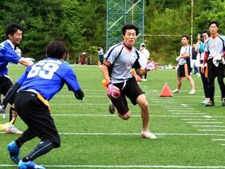 第8回IFAFフラッグフットボール大会に出場し世界一に挑戦したい