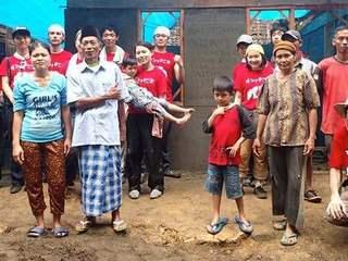 この夏、ハイエン台風で被災した方々のための住居を建設します!